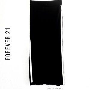 Forever 21 Skirts - FOREVER 21 -  Slit Maxi Skirt
